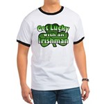 Get Lucky with an Irishman Ringer T
