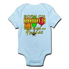 Born on Leap Year, 9 Years Old Infant Bodysuit