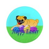 "Fawn Pug 3.5"" Button (100 pack)"