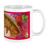 Pretty Girl Ginger CAT Mug
