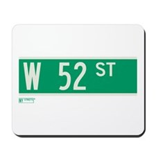 52nd Street in NY Mousepad