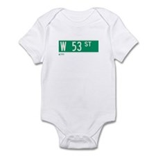 53rd Street in NY Infant Bodysuit