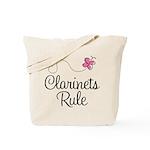 Cute Clarinets Rule Tote Bag