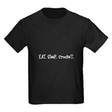 Eat Sleep Crochet T