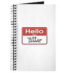 Hello I'm A Tatter Journal