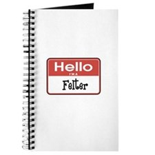 Hello I'm A Felter Journal