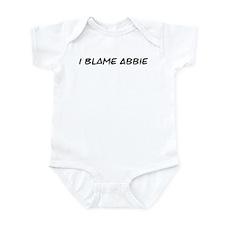 I Blame Abbie Infant Bodysuit