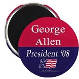 """George Allen for President"" Magnet"