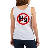 Ban Mercury in Vaccines Women's Tank Top