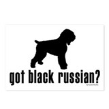 got black russian? Postcards (Package of 8)