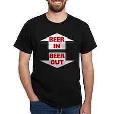 Beer In Beer Out Dark T-Shirt