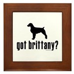 got brittany? Framed Tile
