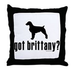 got brittany? Throw Pillow