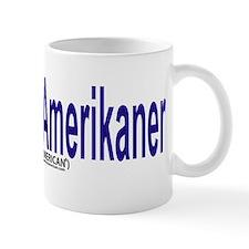 """""""I am not American"""" Danish & English Mug"""