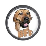 bff blackmouth cur Wall Clock
