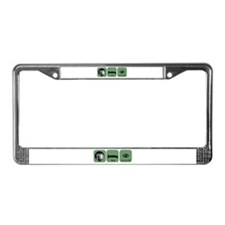 Eat Sleep Second Life License Plate Frame