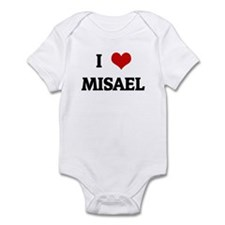 I Love MISAEL Infant Bodysuit