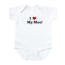 I Love     My Moo! Infant Bodysuit