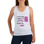 FATHERS A REAL HERO Women's Tank Top