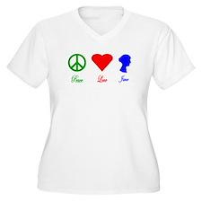 Peace. Love. Jane. T-Shirt