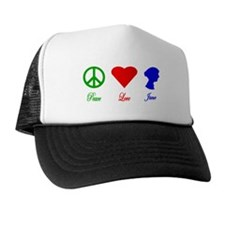 Peace. Love. Jane. Trucker Hat