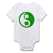 Yin Yang Clovers 2 Infant Bodysuit