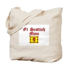 #1 Scottish Mom Tote Bag