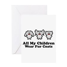 All My Children Greeting Card