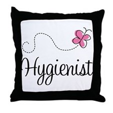 Pretty Hygienist Throw Pillow