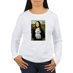 Mona's Maltese (R) Women's Long Sleeve T-Shirt