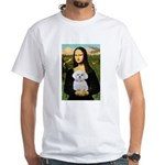 Mona's Maltese (R) White T-Shirt