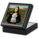 Mona's Maltese (R) Keepsake Box