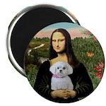 Mona's Maltese (R) Magnet