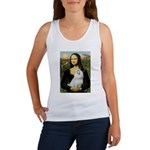 Mona Lisa / Maltese Women's Tank Top