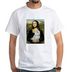 Mona Lisa / Maltese White T-Shirt