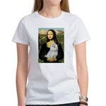 Mona Lisa / Maltese Women's T-Shirt
