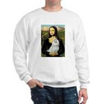 Mona Lisa / Maltese Sweatshirt