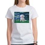 Lilies / Maltese Women's T-Shirt