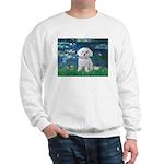 Lilies / Maltese Sweatshirt