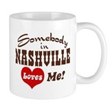 Somebody in Nashville Loves Me Small Mugs