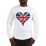 Union Jack Heart Long Sleeve T-Shirt