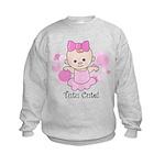 Tutu Cute Kids Sweatshirt