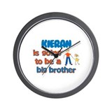 Kieran - Going to be Big Brot Wall Clock