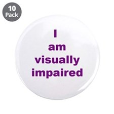 "Unique Disability disabilities 3.5"" Button (10 pack)"