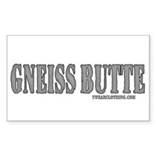 Gneiss Butte Rectangle Decal