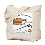 BYOB Cat Sack Tote Bag