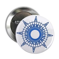 "Corley's Compass 2.25"" Button (10 pack)"