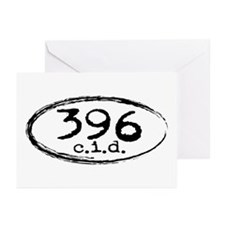 Chevy 396 c.i.d. Greeting Cards (Pk of 10)