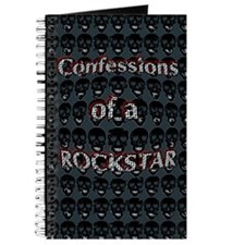 """Confessions of a Rockstar"" Journal"