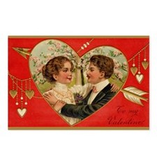 Postcards (Package of 8) - Valentines
